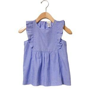 J. Crew Girls' Stripes Cotton Summer Blouse